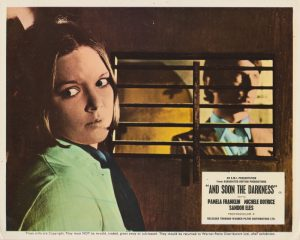 And Soon the Darkness (1970) UK Lobby Card A