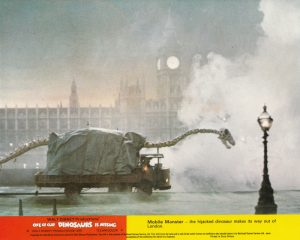 One of our Dinosaurs is Missing (1975) UK Lobby Card B