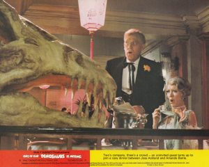 One of our Dinosaurs is Missing (1975) UK Lobby Card E