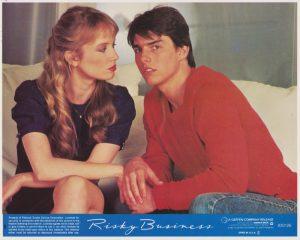 Risky Business (1983) USA Lobby Card 01 NSS 830126