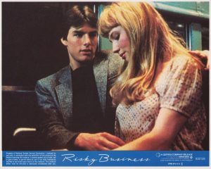 Risky Business (1983) USA Lobby Card 02 NSS 830126