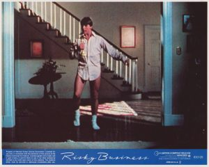 Risky Business (1983) USA Lobby Card 03 NSS 830126