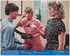 Risky Business (1983) USA Lobby Card 05 NSS 830126