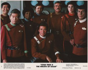 Star Trek II - The Wrath of Khan (1982) USA Lobby Card 01 (NSS 820086)