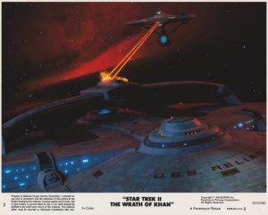 Star Trek II - The Wrath of Khan (1982) USA Lobby Card 02 (NSS 820086)