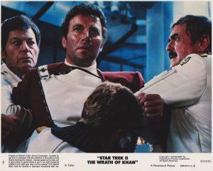 Star Trek II - The Wrath of Khan (1982) USA Lobby Card 03 (NSS 820086)