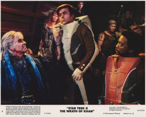 Star Trek II - The Wrath of Khan (1982) USA Lobby Card 04 (NSS 820086)