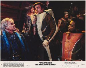 Star Trek II - The Wrath of Khan (1982) USA Lobby Card 04 (NSS 820086)