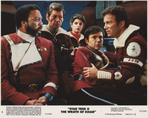 Star Trek II - The Wrath of Khan (1982) USA Lobby Card 06 (NSS 820086)
