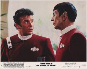 Star Trek II - The Wrath of Khan (1982) USA Lobby Card 07 (NSS 820086)