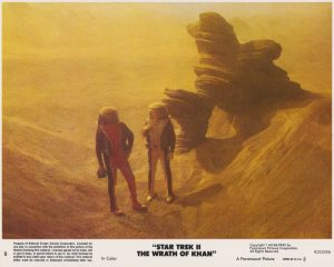 Star Trek II - The Wrath of Khan (1982) USA Lobby Card 08 (NSS 820086)
