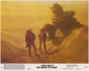 Star Trek II - The Wrath of Khan (1982) USA Lobby Card 08 (NSS 820086)