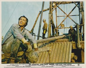 Five Easy Pieces (1970) Lobby Card A (featuring Jack Nicholson)