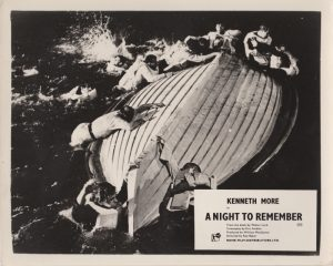 A Night to Remember (1958) Lobby Card A