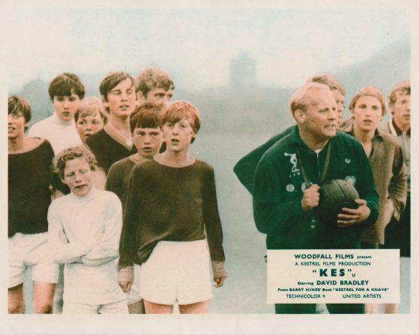 Brian Glover (right) in the football scene