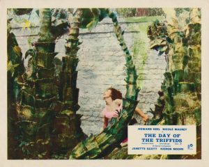 The Day of the Triffids (1963) UK Front of House Card A