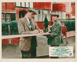 The Plank (1967) UK Front of House Card A