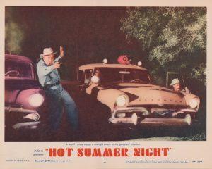 Hot Summer Night (1956) USA Lobby Card 02