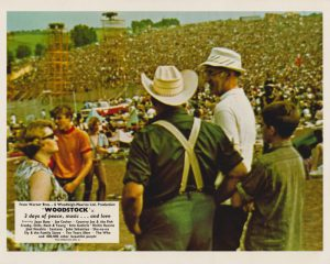 Woodstock (1970) UK Front of House Lobby Card