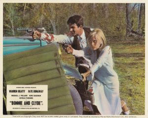 Bonnie and Clyde (1967) Front of House Lobby Card C