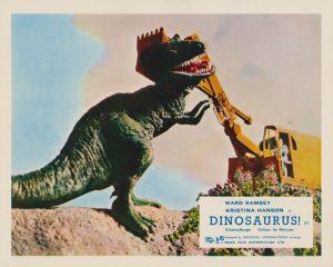 Dinosaurus! (1960) UK Lobby Card A