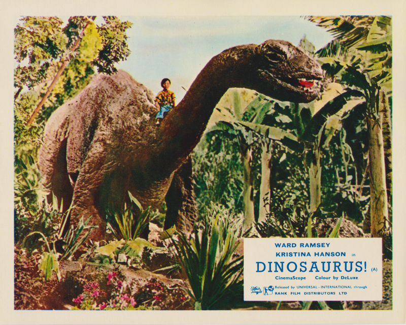 Dinosaurs! (1960) UK Lobby Card E