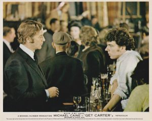 Michael Caine alongside a young Alun Armstrong (in his screen-debut)