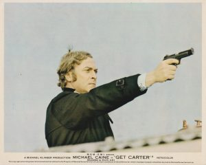 Michael Caine in one of his most iconic roles, as Jack Carter