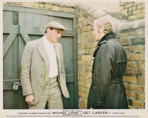 A scene from the British crime classic: Get Carter (1971)