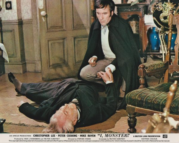 Featuring Christopher Lee as psychologist Charles Marlowe