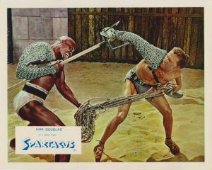 Spartacus (1960) Front of House Lobby Card