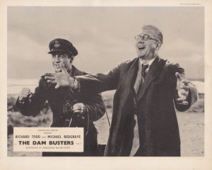 The Dam Busters (1955) British UK Front of House Lobby Card