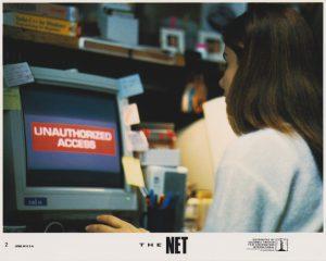 The Net (1995) USA Lobby Card #02