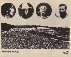 Woodstock (1970) The Director's Cut (1994) Press Kit Photograph D [The Director's Cut (1994) released by Blue Dolphin]