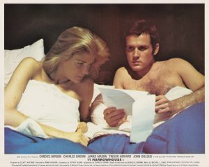 Candice Bergen in bed with Charles Grodin