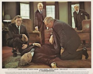 """A scene from the 1974 film """"11 Harrowhouse"""""""