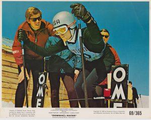 Downhill Racer (1969) USA Lobby Card NSS 69/365