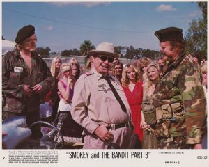 Smokey and the Bandit Part III (1983) USA Lobby Card #07 NSS 830101