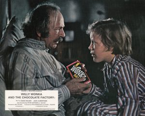 Willy Wonka and the Chocolate Factory (1971) UK Front of House Lobby Card E