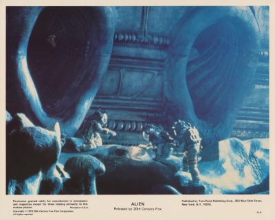 Just one of HR Giger's memorable designs