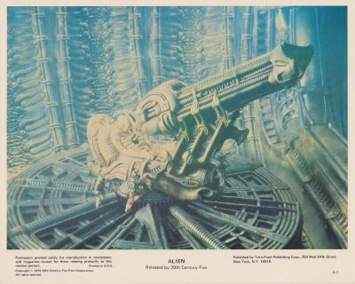 Another of HR Giger's memorable designs
