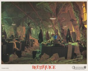 """A suitably macabre scene from Tim Burton's """"Beetlejuice""""(1988)"""