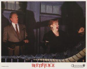 Jeffrey Jones with Catherine O'Hara