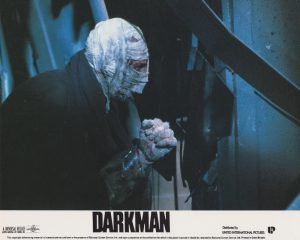 "Liam Neeson as ""Darkman"""