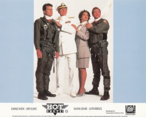 Hot Shots! (1991) UK Front of House Lobby Card A