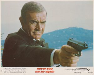 Sean Connery reprised what was surely his most famed role, as secret agent 007: James Bond