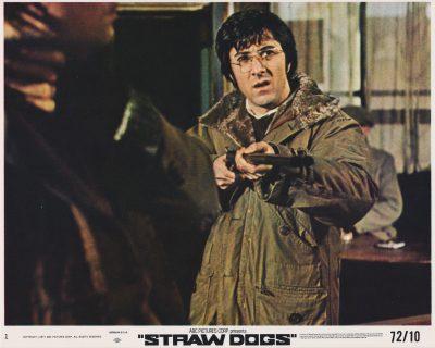 Dustin Hoffman stars in Peckinpah's Straw Dogs (1971)
