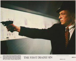 Frank Sinatra starring as Edward Delaney and taking aim!