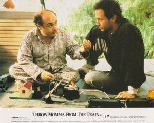 Director/star Danny DeVito alongside Billy Crystal