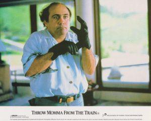 Danny DeVito in Throw Momma from the Train (1987)